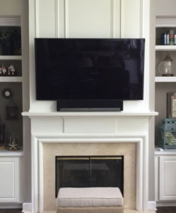 image on page for   / perceived to contain Entertainment Center Fireplace Hearth Furniture