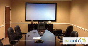 image on page for   / perceived to contain Projection Screen, Screen, Conference Room, Indoors, Meeting Room, Room, White Board, Furniture